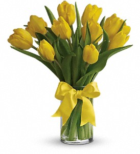 sunny-yellow-tulips-vase