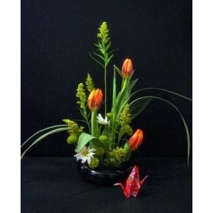 tulips-ikebana-solidago-tulips-aaa-flower-store-nyc